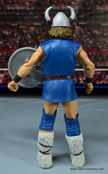 WWE The Berzerker figure review - rear