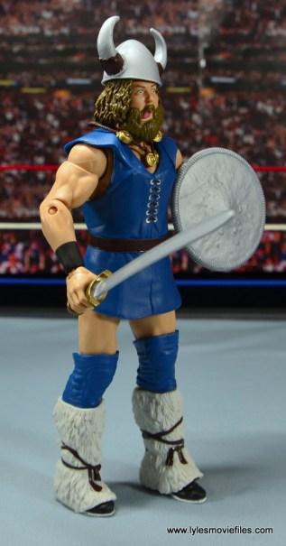 WWE The Berzerker figure review -right side