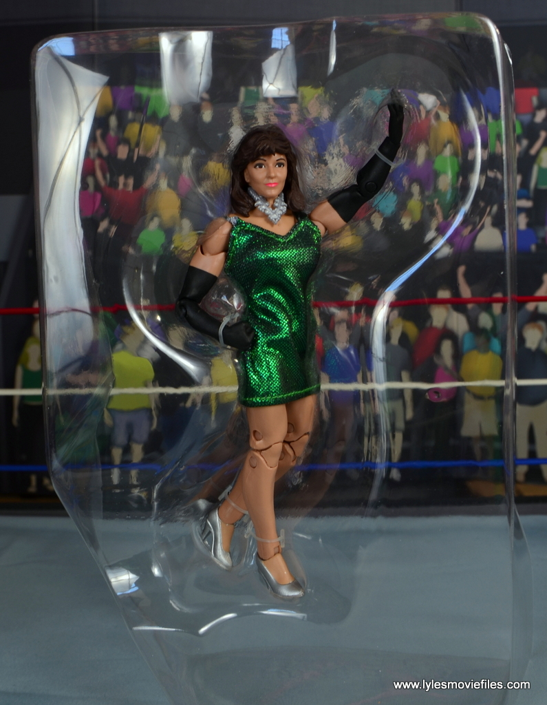 WWE Then Now Forever Miss Elizabeth figure review - in tray