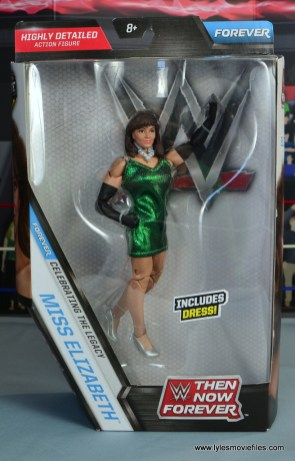WWE Then Now Forever Miss Elizabeth figure review - package front