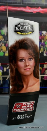 WWE Then Now Forever Miss Elizabeth figure review -package side