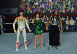WWE Then Now Forever Miss Elizabeth figure review - with Sherri and Queen Sharmell
