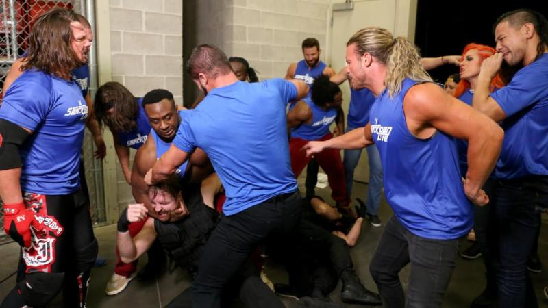 Under Siege - SmackDown Live attacks