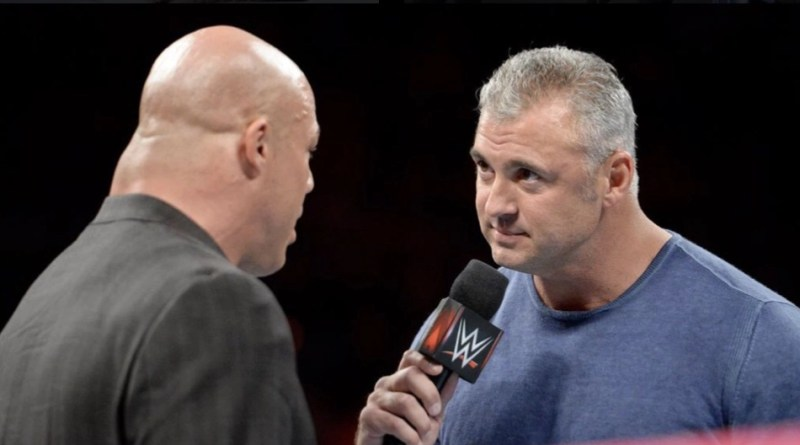 Under Siege - Shane McMahon warns Kurt Angle