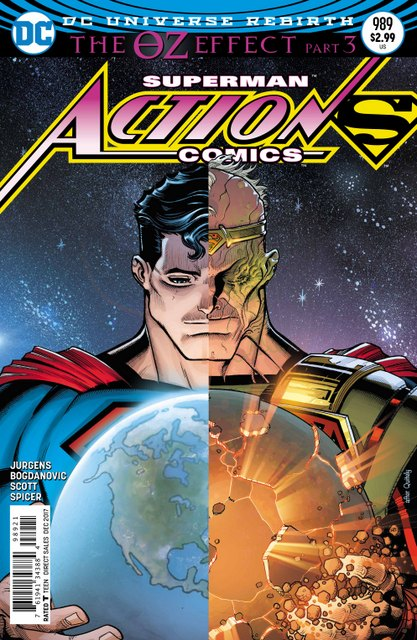 Action Comics #989 cover