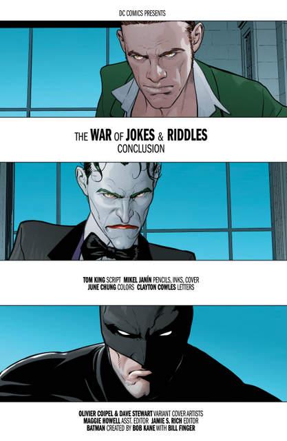 Batman #32 interior art