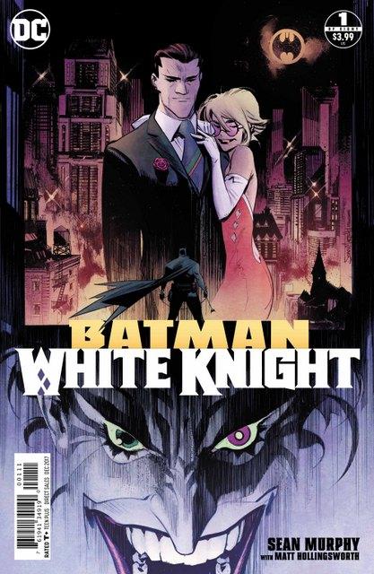 Batman White Knight #1 cover