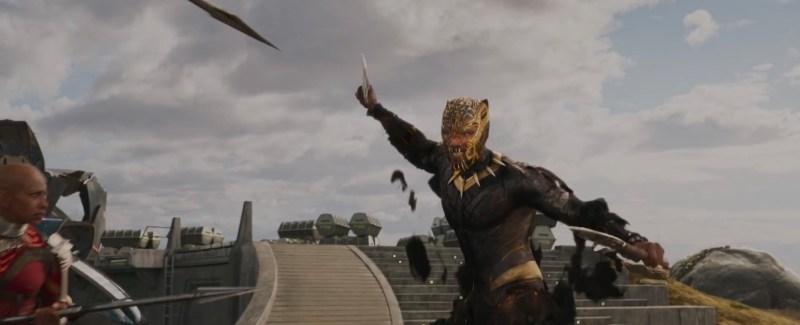 New Black Panther trailer - Killmonger