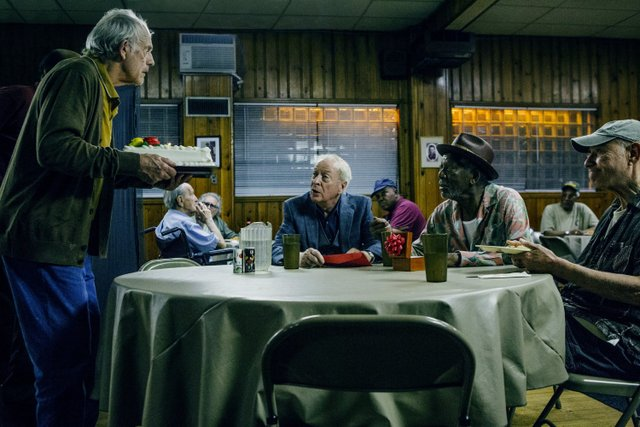 Going in Style movie review - Christopher Lloyd, Alan Arkin, Morgan Freeman and Michael Caine