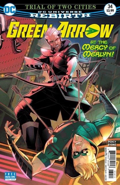 Green Arrow #34 cover
