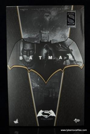 Hot Toys Batman v Superman Batman figure review -package front