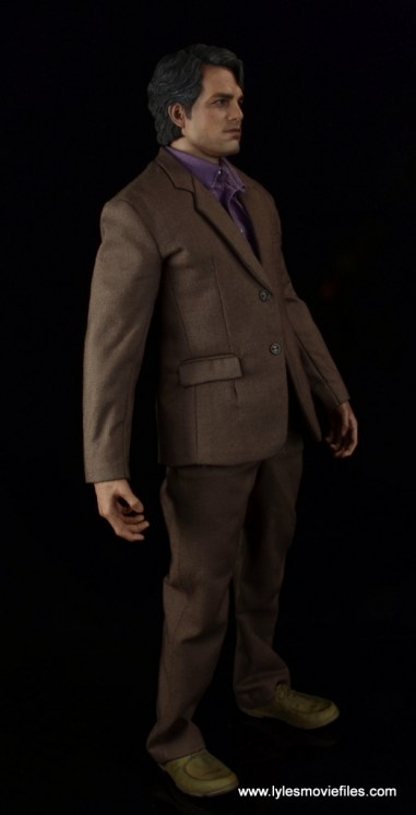 Hot Toys Bruce Banner figure review -right side