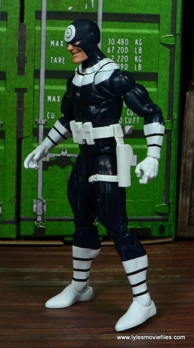 Marvel Legends Bullseye figure review - left side