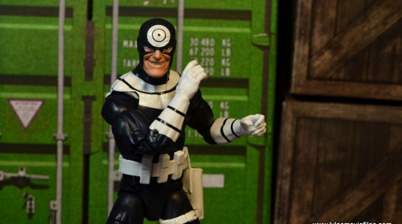Marvel Legends Bullseye figure review - main pic