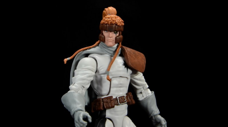 Marvel Legends Shatterstar figure review -main