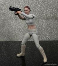 SH Figuarts Padme figure review - firing blaster