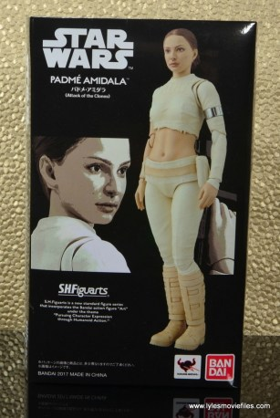 SH Figuarts Padme figure review -package