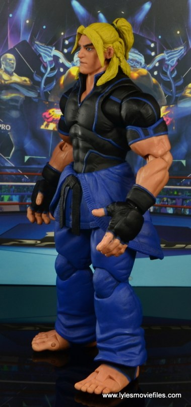 Storm Collectibles Street Fighter V Ken figure review - left side