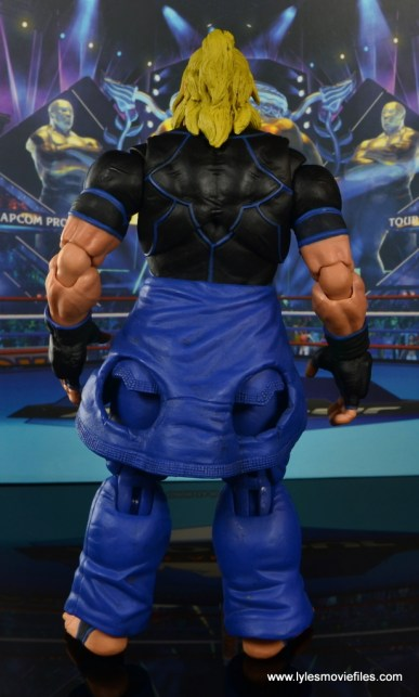 Storm Collectibles Street Fighter V Ken figure review - rear