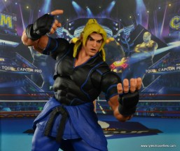 Storm Collectibles Street Fighter V Ken figure review - taunt pose