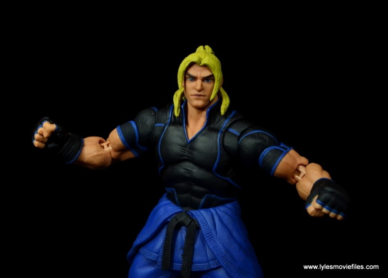 Storm Collectibles Street Fighter V Ken figure review -wide