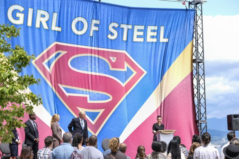 Supergirl The Girl of Steel review - Girl of Steel poster