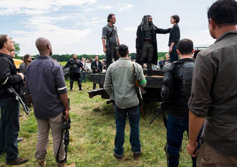 The Walking Dead Mercy review - Rick, Ezekiel and Maggie
