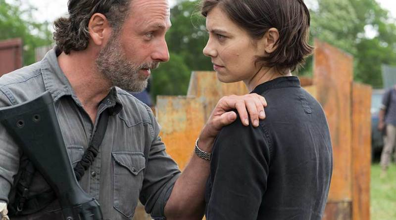 The Walking Dead Mercy review - Rick and Maggie - andrew lincoln and lauren cohan