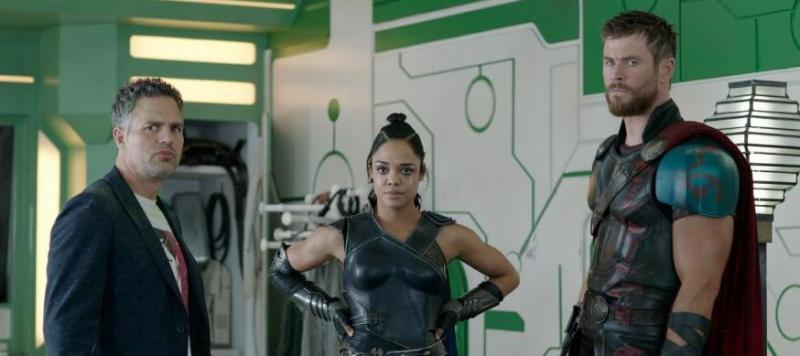 Thor Ragnarok review - Banner, Valkyrie and Thor