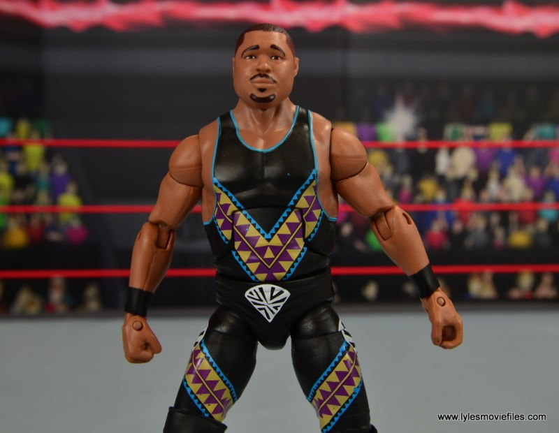 WWE Elite D-Lo Brown figure review - chest paint detail