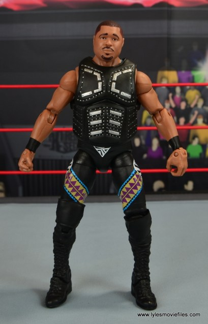 WWE Elite D-Lo Brown figure review -front