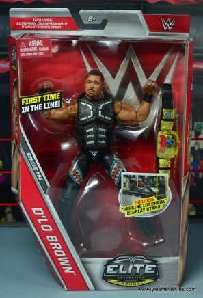 WWE Elite D-Lo Brown figure review - package front
