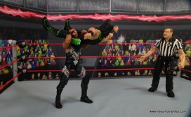 WWE Elite D-Lo Brown figure review - running powerbomb to X-Pac