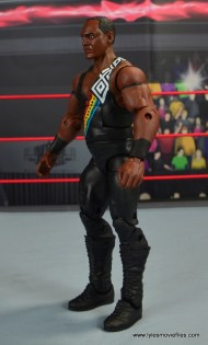 WWE Elite Farooq and The Rock Nation of Domination figure review set - Farooq left side