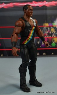 WWE Elite Farooq and The Rock Nation of Domination figure review set - Farooq right side