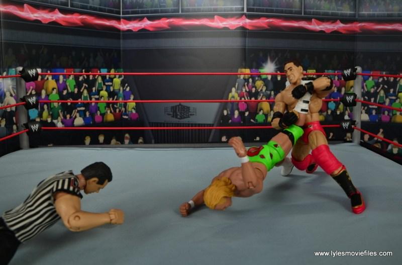 WWE Elite Ken Shamrock figure review - ankle lock to Mr Ass