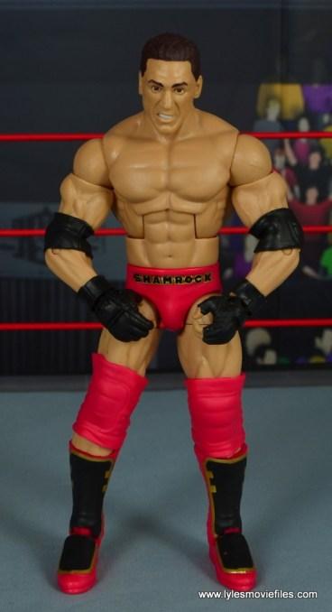 WWE Elite Ken Shamrock figure review -front
