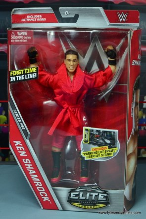 WWE Elite Ken Shamrock figure review - package front