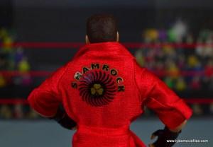 WWE Elite Ken Shamrock figure review - robe lettering