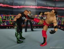 WWE Elite Ken Shamrock figure review -side kick to Road Dogg