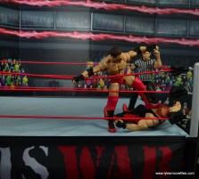 WWE Elite Ken Shamrock figure review - stomping Vader