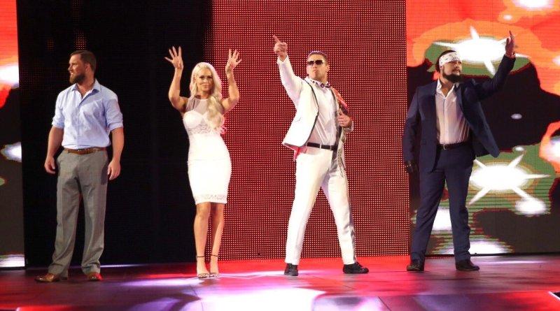 WWE The Miztourage - Miz and Maryse