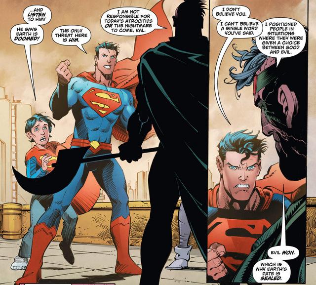 Action Comics #991 interior art