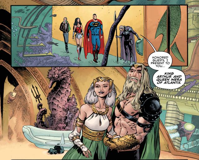 Aquaman Annual #1 interior art