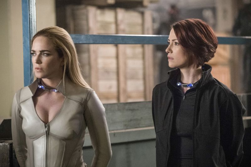 Arrow Crisis on Earth-X Part 2 review - Sara and Alex