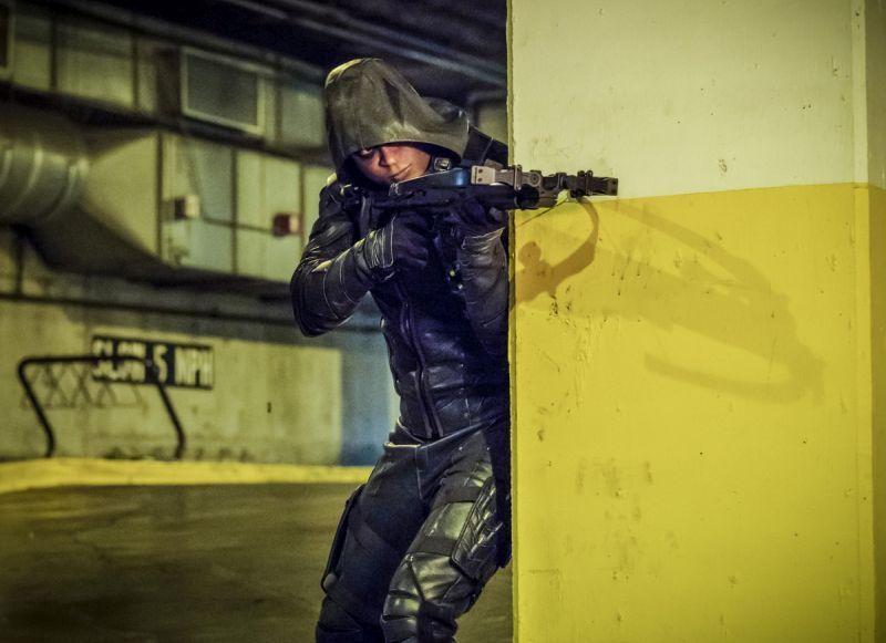 Arrow Promises Kept - Diggle as Green Arrow