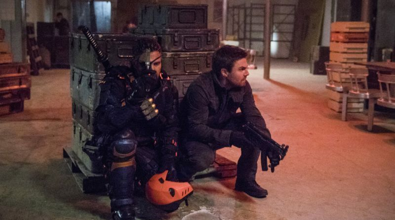 Arrow Promises Kept - Slade Wilson and Oliver