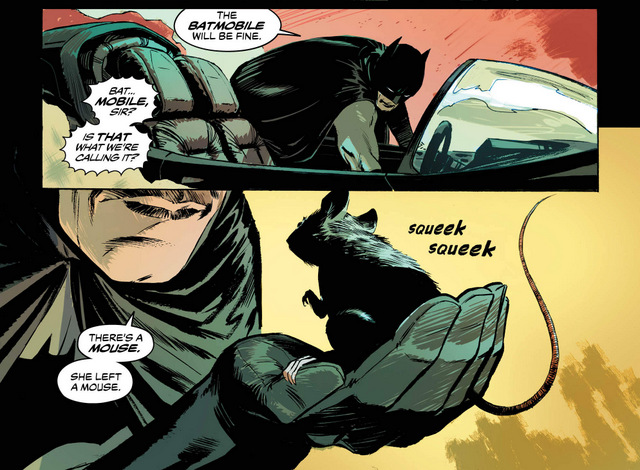Batman Annual #2 interior art