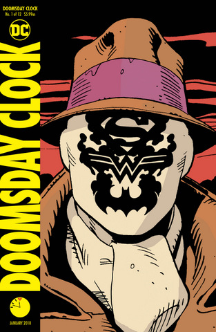 Doomsday Clock #1 variant a