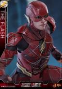 Hot Toys Justice League The Flash figure - close up